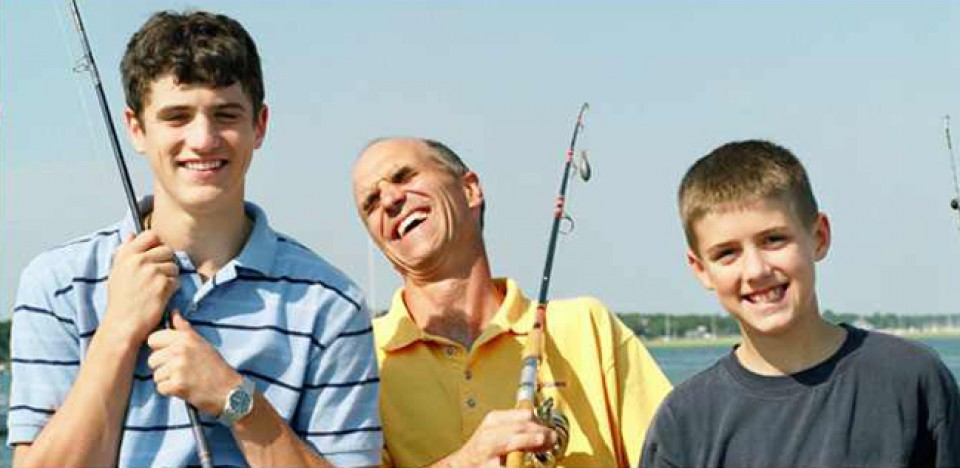Family Fishing - McKibben & Company Realty