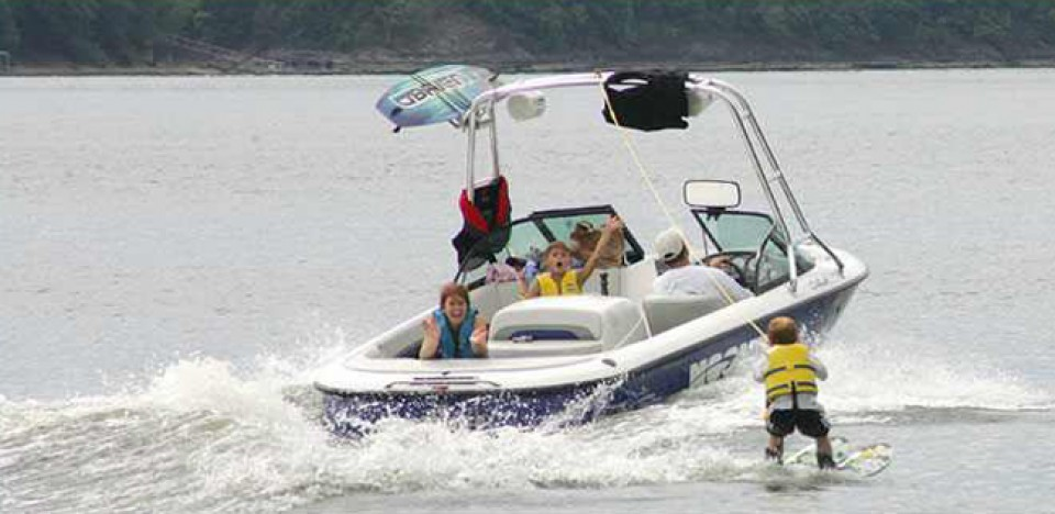 Water Skiing - McKibben & Company Realty